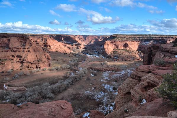Canyon on wide angle