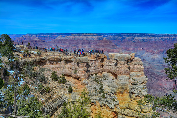 Lookout in Grand canyon