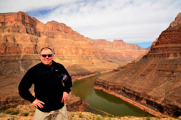 Dave in Grand Canyon