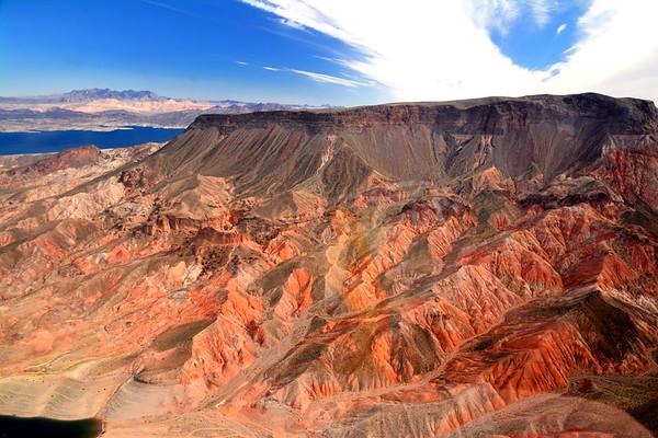 Striking rock colors