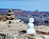 Frosty visits the Grand Canyon