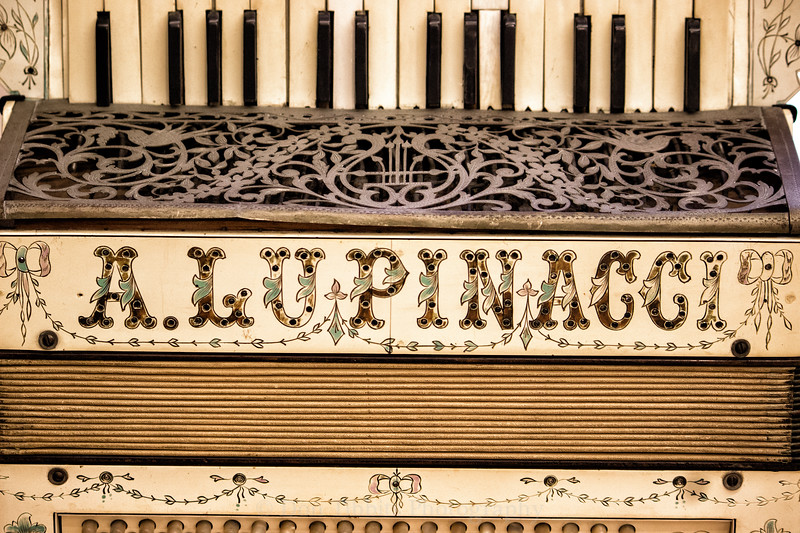 Italian Lupinacci Piano Accordion