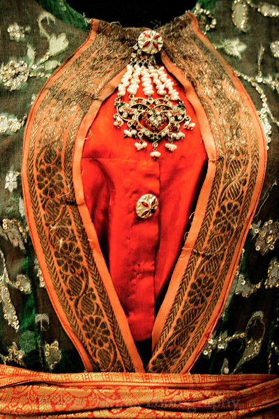 Indian Kathak Costume