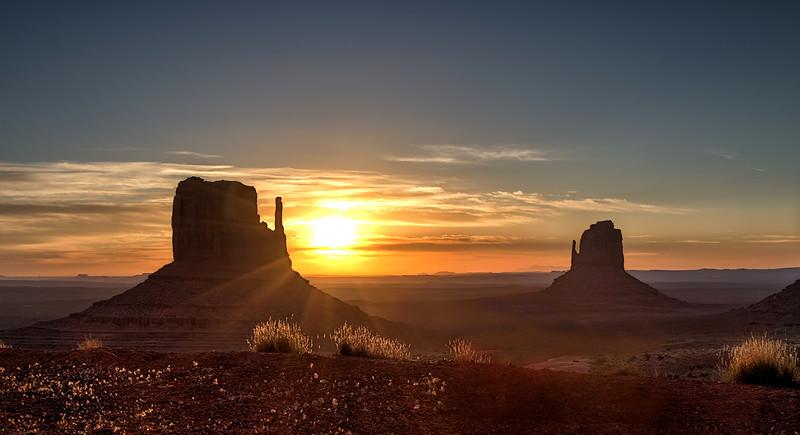 Mittens - Monument Valley, AZ