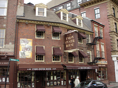 The Union Oyster House - Boston, MA ... April 18, 2006 ... Photo by Rob Page III