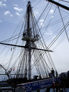 On the USS Constitution - Boston, MA ... April 19, 2006 ... Photo by Rob Page III