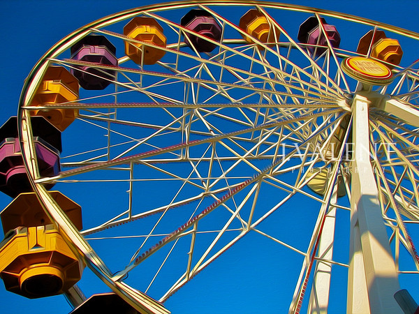 Santa Monica Pier - Farris Wheel (dismantled 2008)