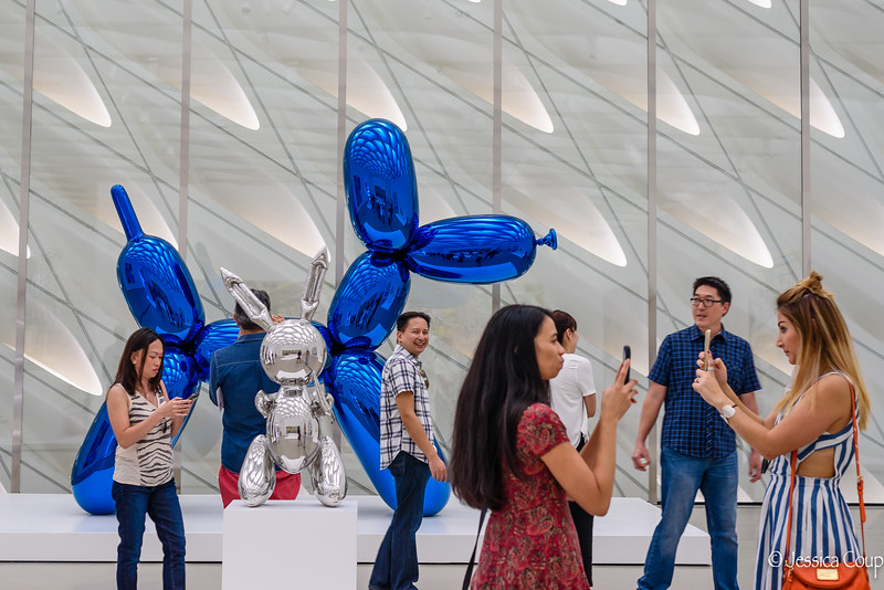 Selfies with the Koons