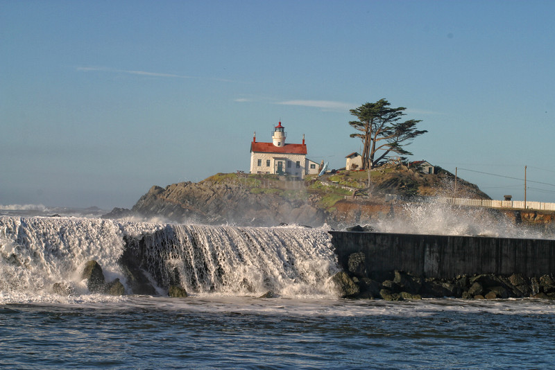 Battery Point Lighthouse. Crescent City, California 1029