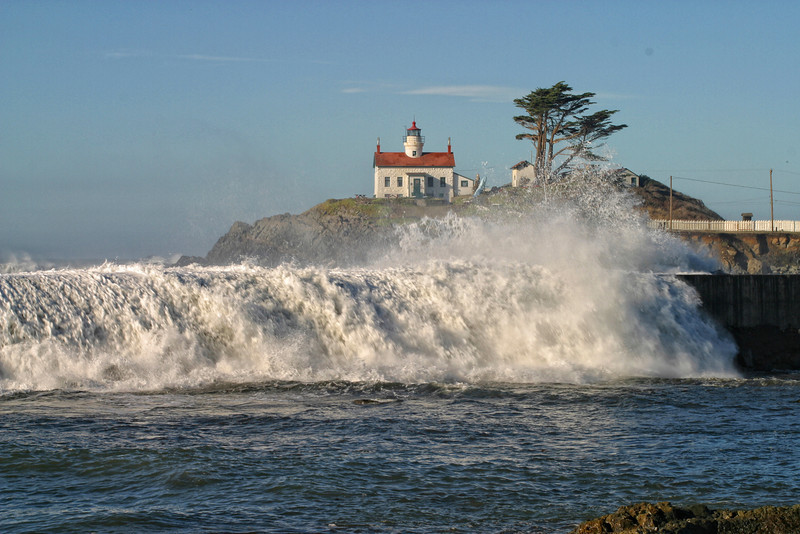 Battery Point Lighthouse. Crescent City, California 1033