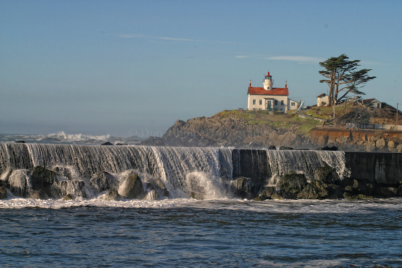 Battery Point Lighthouse. Crescent City, California 1030