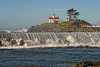 Battery Point Lighthouse. Crescent City, California 1034