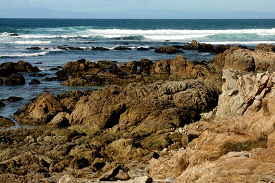 The rocks at Spanish Bay - Monterey, CA ... March 11, 2009 ... Photo by Rob Page III