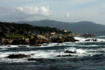 The view from Cyprus Point Lookout - Monterey, CA ... March 11, 2009 ... Photo by Rob Page III