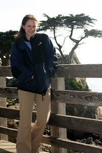 Emily and the Lone Cyprus - Monterey, CA ... March 11, 2009 ... Photo by Rob Page III