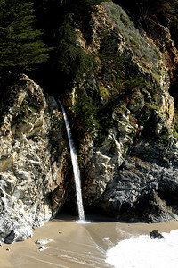 The waterfall at Julia Pfeiffer Burns Stae Park - Big Sur, CA ... March 10, 2009 ... Photo by Rob Page III