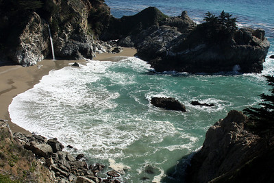 McWay Cove at Julia Pfeiffer Burns State Park - Big Sur, CA ... March 10, 2009 ... Photo by Rob Page III