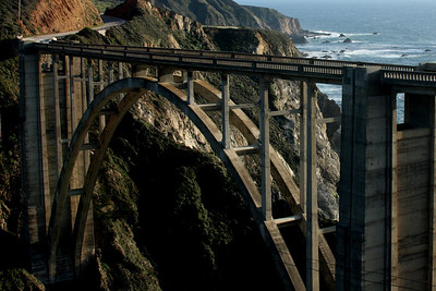 Bixby Bridge - Big Sur, CA ... March 10, 2009 ... Photo by Rob Page III