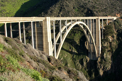 The Bixby Bridge on Highway 1 - Big Sur, CA ... March 10, 2009 ... Photo by Rob Page III