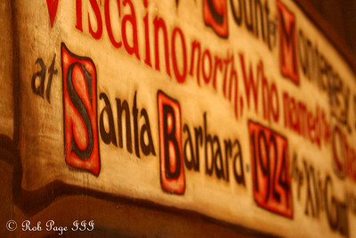 Inside the Santa Barbara County Courthouse - Santa Barbara, CA ... March 9, 2009 ... Photo by Rob Page III