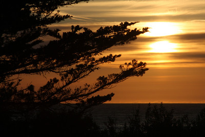 Sunset at the beach - Carmel, CA ... March 10, 2009 ... Photo by Rob Page III