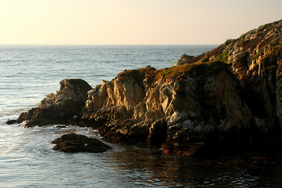 Granite Point at sunset - Carmel, CA ... March 11, 2009 ... Photo by Rob Page III