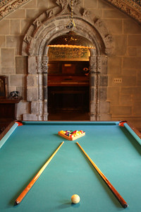 The billards room where one of the ladies of the house would hustle the boys - San Simeon, CA ... March 10, 2009 ... Photo by Rob Page III