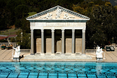 The Neptune Pool at the Hearst Castle - San Simeon, CA ... March 10, 2009 ... Photo by Rob Page III