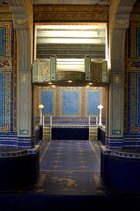 The (empty) pool at the Hearst Castle - San Simeon, CA ... March 10, 2009 ... Photo by Rob Page III
