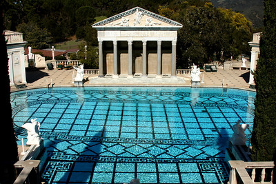 The Neptune Pool at Hearst Castle - San Simeon, CA ... March 10, 2009 ... Photo by Rob Page III