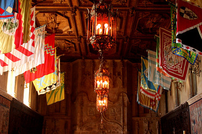 The Hearst Castle dining room - San Simeon, CA ... March 10, 2009 ... Photo by Rob Page III