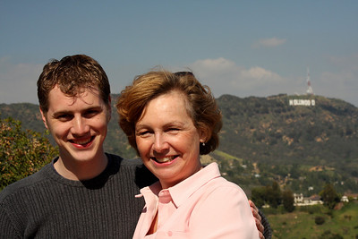 Mom and Rob enjoying California - Hollywood, CA ... March 8, 2009 ... Photo by Emily Page