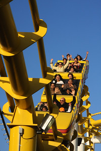 The 'West Coaster' at Pacific Park - Santa Monica, CA ... March 8, 2009 ... Photo by Rob Page III