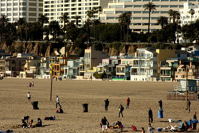 The beach - Santa Monica, CA ... March 8, 2009 ... Photo by Rob Page III