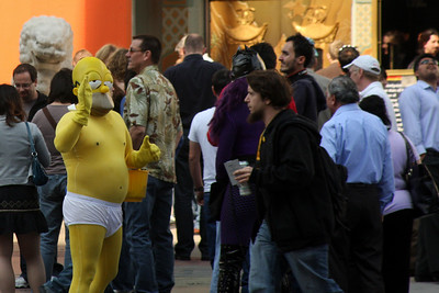 Grummans attracts some interesting people - Hollywood, CA ... March 8, 2009 ... Photo by Rob Page III
