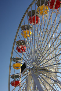 The 'Pacific Wheel' is solar powered - Santa Monica, CA ... March 8, 2009 ... Photo by Rob Page III