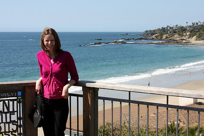 Emily in California - Laguna Beach, CA ... March 7, 2009 ... Photo by Rob Page III