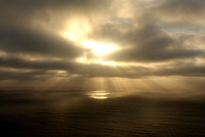 Sunset over the Pacific Ocean - Point Reyes National Seashore, CA ... March 12, 2009 ... Photo by Rob Page III