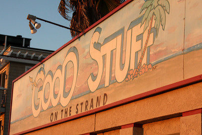 The Good Stuff - Hermosa Beach, CA ... March 7, 2009 ... Photo by Rob Page III