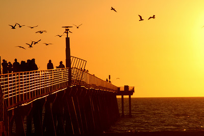 Hermosa Beach Pier - Hermosa Beach, CA ... March 7, 2009 ... Photo by Emily Page