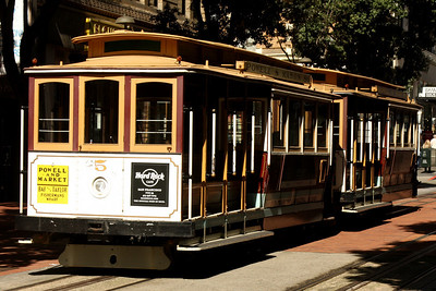 The world famous cable cars - San Francisco, CA ... March 13, 2009 ... Photo by Rob Page III