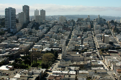 San Francisco from Telegraph Hill - San Francisco, CA ... March 13, 2009 ... Photo by Rob Page III