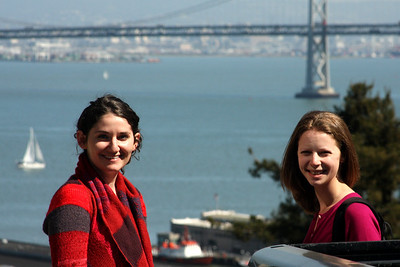 Emily and Liora - San Francisco, CA ... March 13, 2009 ... Photo by Rob Page III