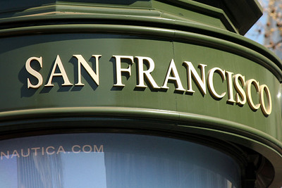 Welcome to San Francisco - San Francisco, CA ... March 13, 2009 ... Photo by Rob Page III