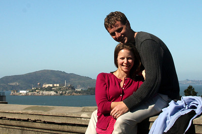 Rob and Emily enjoying the city - San Francisco, CA ... March 13, 2009 ... Photo by Rob Page III