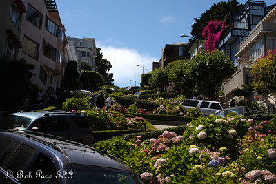 Lombard St. - San Francisco, CA ... August 14, 2010 ... Photo by Rob Page III