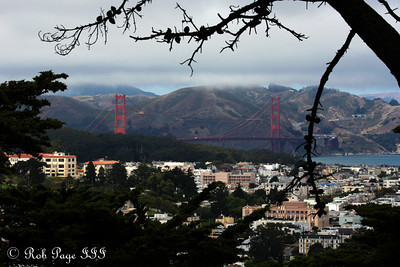 The Golden Gate Bridge from Buena Vista Park - San Francisco, CA ... August 14, 2010 ... Photo by Rob Page III