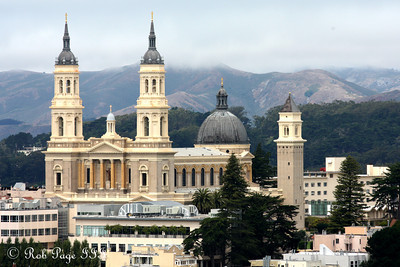 The St. Ignatius Church from Buena Vista Park - San Francisco, CA ... August 14, 2010 ... Photo by Rob Page III