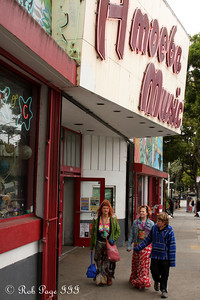 Outside Amoeba Music in the Haight district - San Francisco, CA ... August 14, 2010 ... Photo by Rob Page III