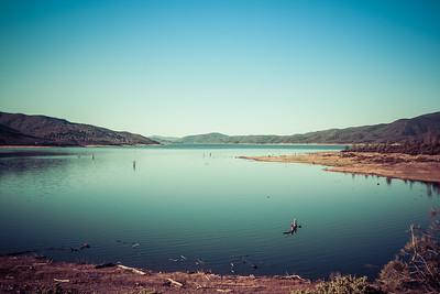 Indian Valley Reservoir, California, USA